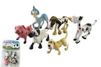 Assortiti 6 pz/set di ukenn divertente 3D animali da fattoria modello kids educational toy P2905/6