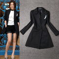 The new star with the paragraph was thin European and American temperament style small suit jacket-do775