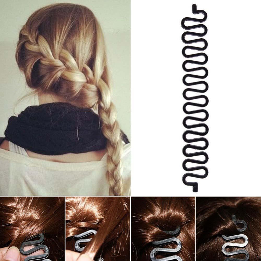 1 шт.; Лидер продаж; Модные женские высококачественные последний поворот ручной работы волосы сороконожка клип плетеные зажим для волос ...