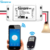 Sonoff RF Remote Control Intelligent Automation Module 433 MHZ Smart Home Wireless Switch Module