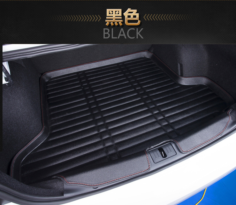 Myfmat custom trunk mats cargo liner mat for AUDI Q3 Q5 Q7 S3 S5 S6 SQ5 waterproof pads free shipping new styling fashionable