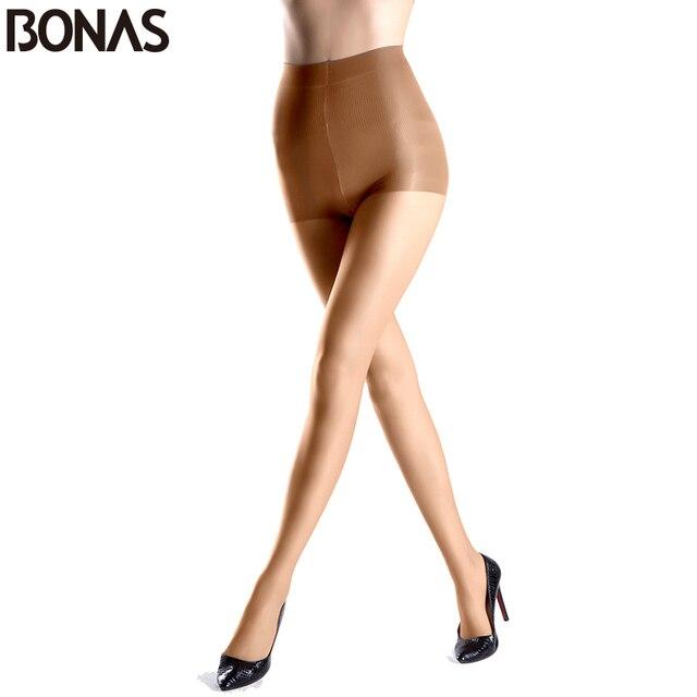 BONAS весенний стиль сплошной Цвет сексуальный нейлон Эластичный Колготки Женская Мода Дешевые Колготки для новорождённых леди спандекс стойкие черный чулок