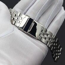 """22 мм 24 мм Высокое качество однотонные Нержавеющаясталь часы-браслет для часы Breitling ремешком флеш-накопителей """"Мстители"""" NAVITIMER SUPEROCEAN ремень"""