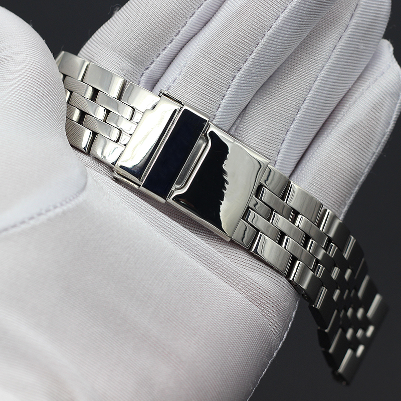22MM 24MM High Quality Solid Stainless Steel Watch Bracelet For Breitling Watch Strap Bands AVENGER NAVITIMER SUPEROCEAN Strap