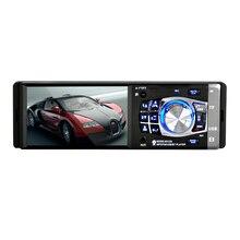 4,1 дюймов один Din головное устройство Bluetooth In-dash для стерео-Радио автомобильной медиа-плеер/пульт дистанционного управления