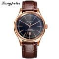 LONGPETER Brand Luxury Classic Watch Men 2016 Relogio Masculino Business Fashion Mens Quartz Wristwatches Calendar Montre Homme