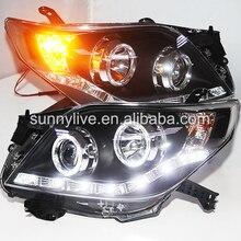 RHD version  led lights for Toyota Prado FJ150 2009-2013 MODEL