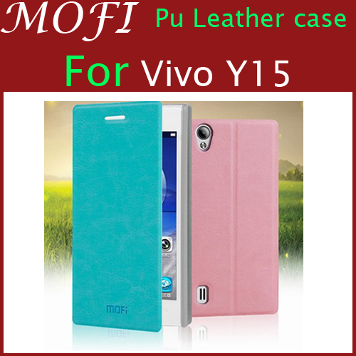 promo code f46fc ce5b8 US $5.39  Hot selling Mofi leather case for Vivo Y15, original cover  colorful high quality For Vivo Y15 leather case cover(No track) on  Aliexpress.com ...