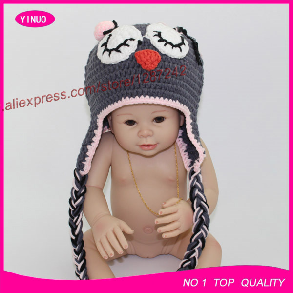 Lovely Animal Baby Hats Monkey Earflap Hat Crochet Pattern Winter