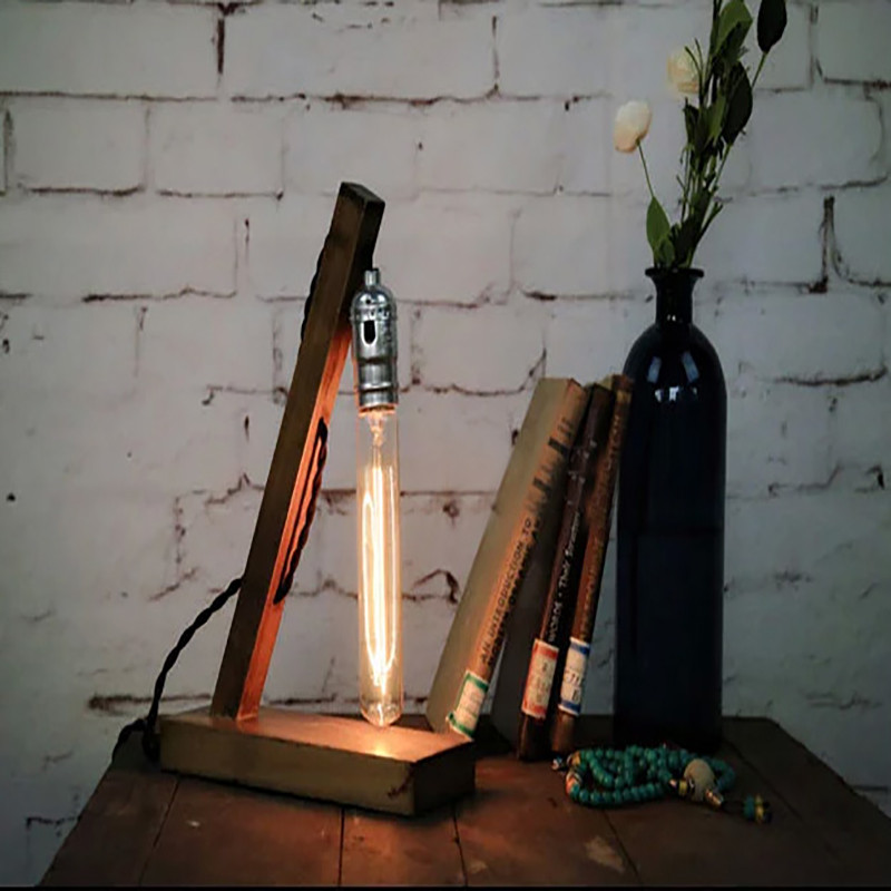 Wood Table Lamps 11