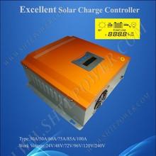 Отличное ШИМ-контроллер заряда солнечного аккумулятора 60a 96 В