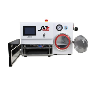 LY KO-MAX all in one plate type OCA LCD laminating machine 8 inches built-in bubble defoam machine 220V 110V professional certification