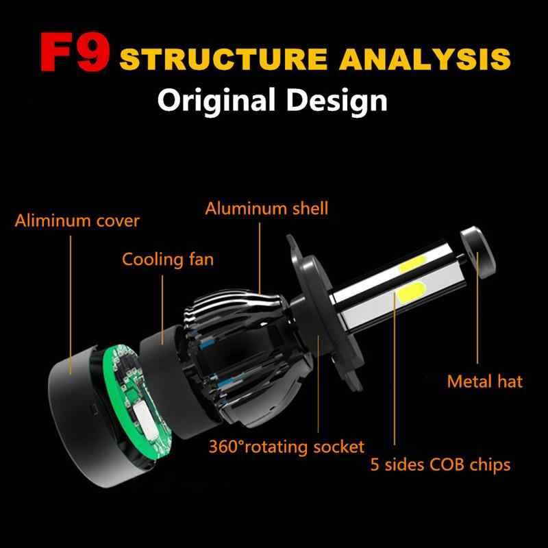 2Pcs H7 หลอดไฟ LED CANbus ไม่มีข้อผิดพลาด H4 LED H11 H8 H9 9006 HB4 H9 9005 HB3 Auto Car ไฟหน้า 90W 14000LM 6000K ไฟตัดหมอกรถ