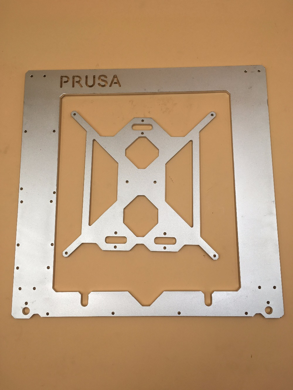 Clashed bent RepRap Prusa i3 frame kit Rework 3D printer aluminum alloy made upgraded 3D Printer DIY 6 mm Anodized oxidation