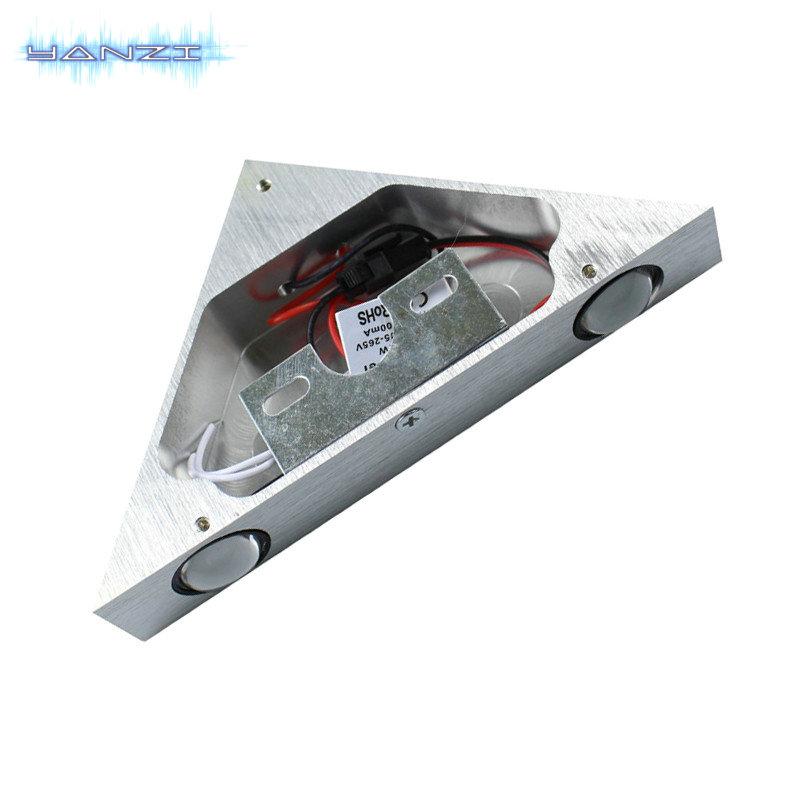 Modern Red light LED Wall Lamp 3W AC85-265V fashion home decoration indoor wall lights for home LED Wall Sconce