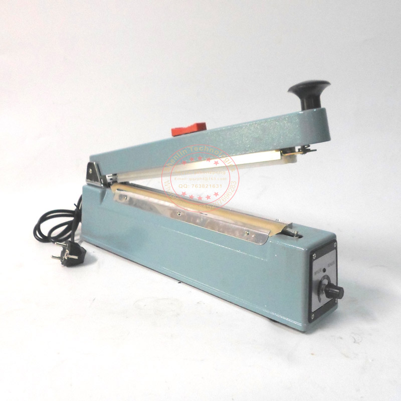 Manual bag sealing tool,impulse package heating sealer,plastic shelled,food electronics beverage packaging economic equipment300