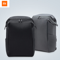 2color Original Xiaomi 90FUN Bag Commuter Backpack Barrel Opening 4 Levels Of Water Repellent Simple And Light For Travel Work