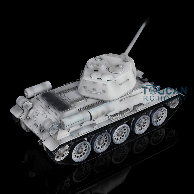все цены на 2.4Ghz HengLong 1/16 Scale Winter Snow Soviet T34-85 Upgraded Metal Version RTR RC Tank 3909 онлайн