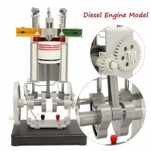 Модель дизельного двигателя 31009, рабочий принцип тестирования двигателя внутреннего сгорания