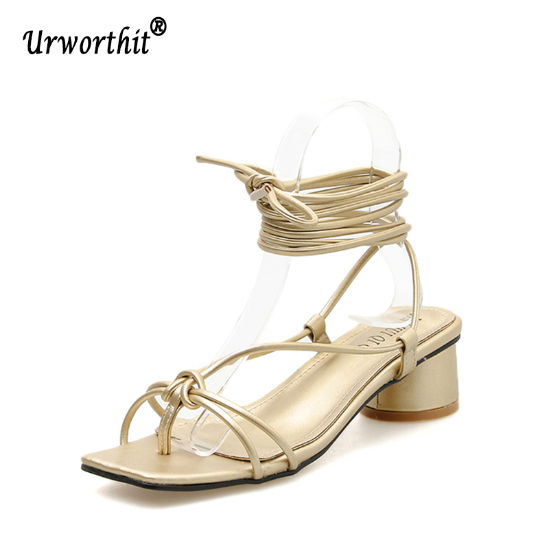 Leather Casual Shoes Sandles Middle