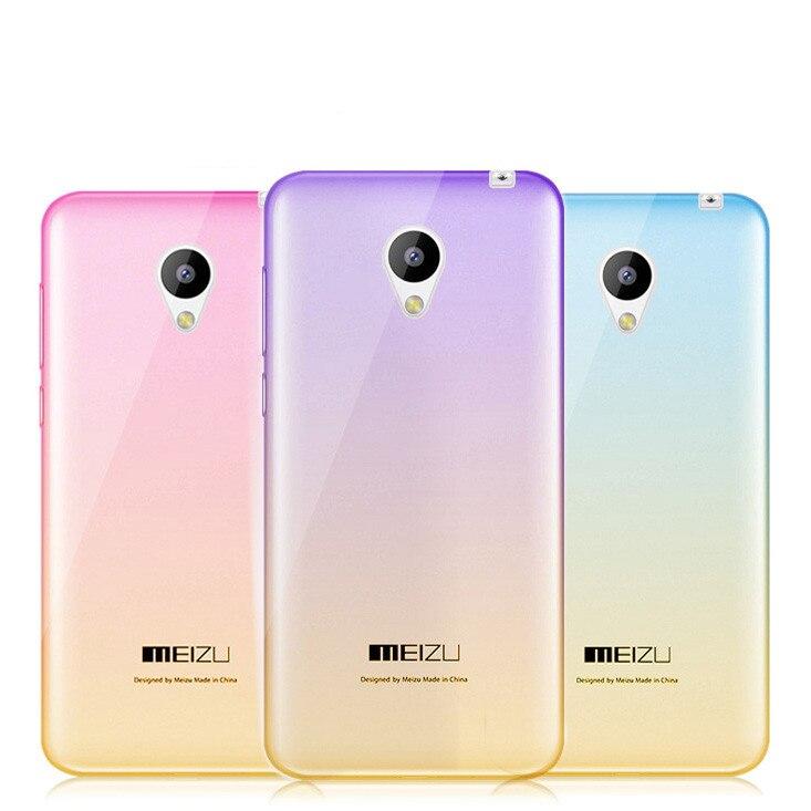 Продажа для Meizu MX4 MX5 mx6 кейс Мягкий ТПУ силиконовый градиент мобильный чехол для Meizu M2 Note M3 Note Телефонные чехлы задняя крышка кожи