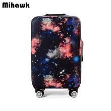 Эластичный Galaxy тележка чемодан Крышка для 18-32 дюймов Чемодан защитный PROTECT мешка для сбора пыли Дело Туристические товары продуктов питания
