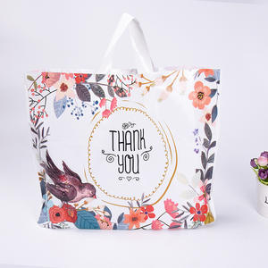 Wedding-Carrier-Bag Plastic Bags Customized-Logo Magpie Large Wholesale for Good-Quality