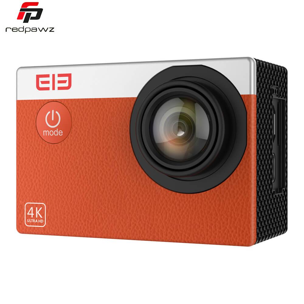 Prix pour NEW Original ELE Explorer S Étanche WiFi 4 K D'action Caméra Capteur CMOS 16MP 30FPS 170 degrés Sport Support de Caméra 128 GB