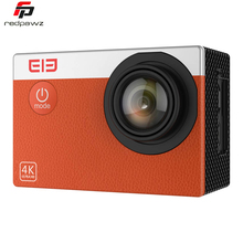 НОВЫЙ Оригинальный ELE Исследователя С Водонепроницаемый WiFi 4 К 30FPS 170 градусов Спорт Действий Камеры CMOS Сенсор 16MP Камера Поддержка 128 ГБ