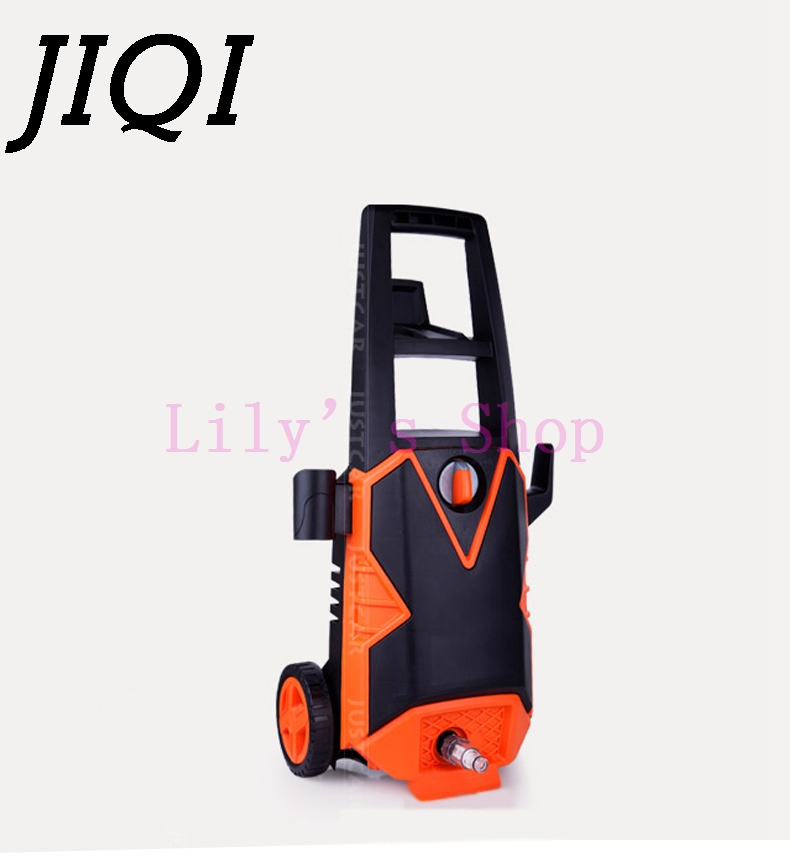 High pressure washing machine household 220v automatic car washing device portable washing machine gun pump brush truck EU US  220v 50hz 7l min washing machine portable high pressure household washing device