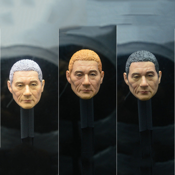 1/6 Japanese Famous Star Kitano Takeshi head sculpt for 12''Male Bodies image