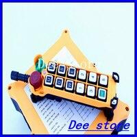 Comprar 2 velocidades 1 transmisor 11 canales elevador grúa Industrial camión Radio Control remoto botón interruptor sistema