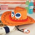 UNA PIEZA barba Blanca Portgas D Ace Puño de Fuego sombrero de paja sombrero de Visera