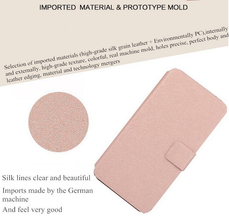 För LG X Power Luxury Flip Magnetisk PU-läderplånbok för LG X - Reservdelar och tillbehör för mobiltelefoner - Foto 3