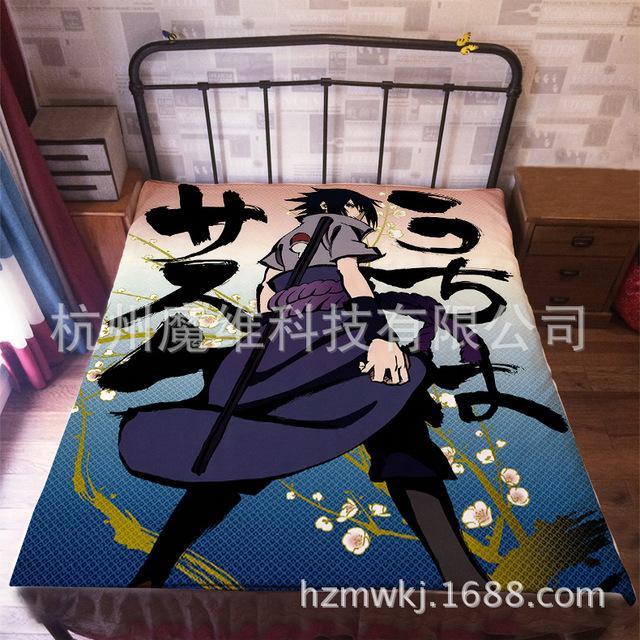 Uzumaki Naruto Flannel Blanket Cover