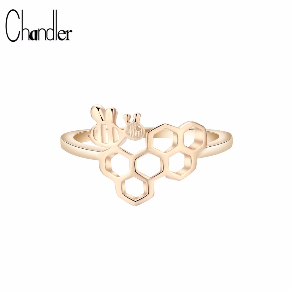 aliexpresscom buy chandler cute bee rring for women