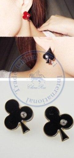 Stud Earrings ear rings Fashion for women Girls lady unique flowers hearts multi color design CN post