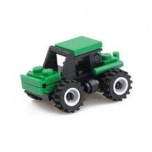 1 conjunto Kits de Construção de Construção de Brinquedos Modelo de Carro Brinquedos Educativos Passatempos para Crianças do jardim de Infância Presentes XWJ46