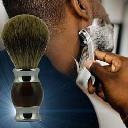 Щетка для бритья Парикмахерская щетка из вспененного материала уход за щеткой для мужчин удаление бороды для лица