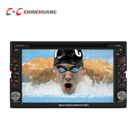 Car DVD Player For Nissan Universal With GPS Navi Radio Ipod USB SD BT Support 3G