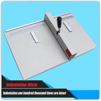 Paper Creasing machine , manual creasing machine paper creaser DC-360Y for Creasing Length 360mm/14inch