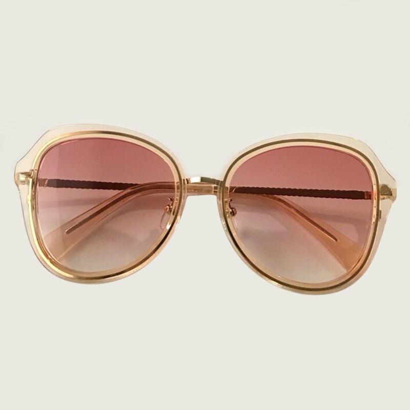 2019 été Style ovale lunettes de soleil femmes marque Designer acétate cadre soleil verre carré nuances lunettes de soleil femme UV400