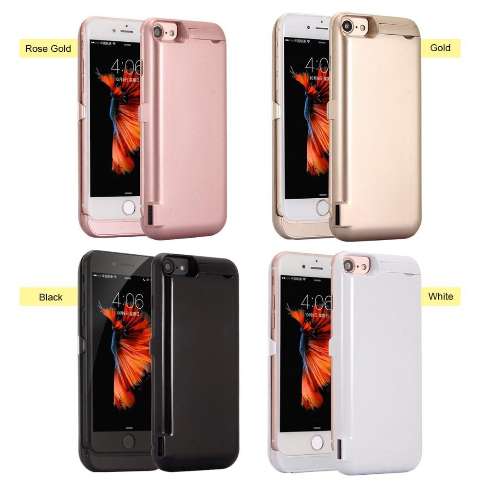 10000 mah Portable Ultra Slim Power Case Pour iPhone 6 6 s 7 8 Batterie Cas Chargeur Externe Pour iPhone 8 Plus 7 Plus 6 sPlus 6 Plus