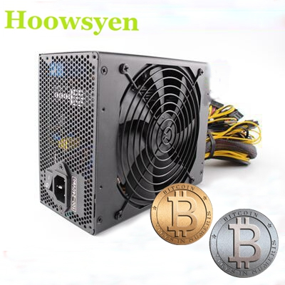 Mining case rig R9 380/390 RX 470/480 RX 570 1060 psu Computer power Supply 1600W Ethereum Bitcoin miners DASH 8pin GPU CARDS