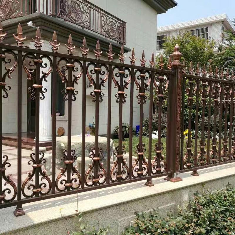 New Style Powder Coated Metal Aluminum Fence Designs Hc-af6
