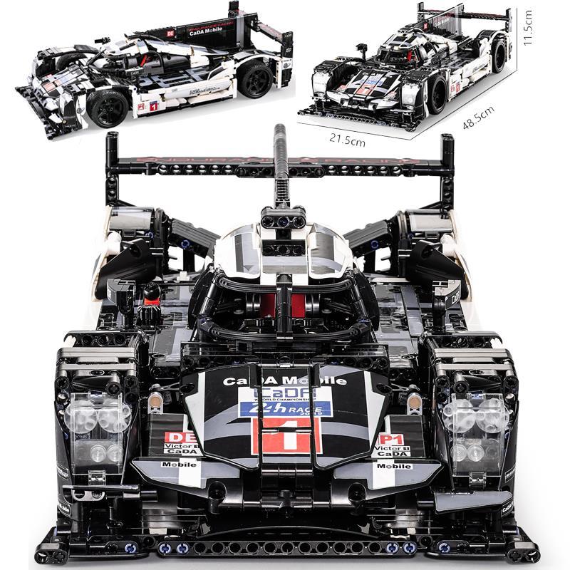 CADA 1586 piezas técnica velocidad campeones Supercar bloques de construcción ladrillos cifras coche de carreras bugattied juguetes Compatible con legoINGly