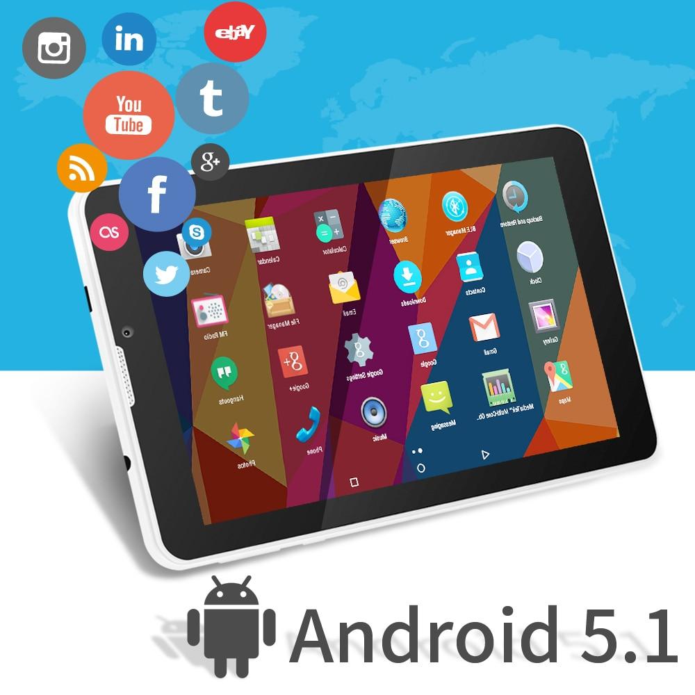 ФОТО 7'' E706 Yuntab Tablet  GPS Double Mini SIM Card 1.2GHz Quad Core Cortex A7  IPS Dual Camera 1GB+8GB Phone Call Tablet PC