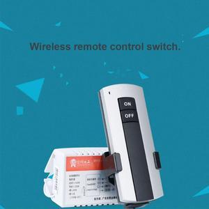 Image 4 - 1/2/3 vie ON/OFF AC 200V 240V ricevitore Wireless lampada lampada telecomando interruttore nuovo