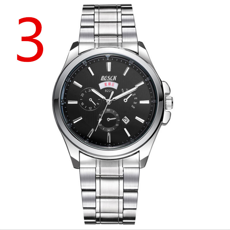 Mens Watches Top Brand Luxury Sport Quartz Watch Men Business Stainless Steel Silicone Waterproof Wristwatch relogio magicool 140 ex slim 140mm copper radiator water cooler double fins coolgate hd