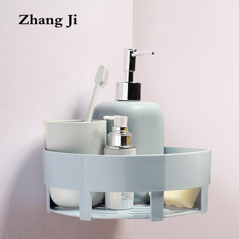 ZhangJi Triangle Structure Shelf Rack Bathroom Corner Heavy Duty ...